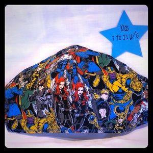 Kids (7-11 y/o) Marvel Comics face mask